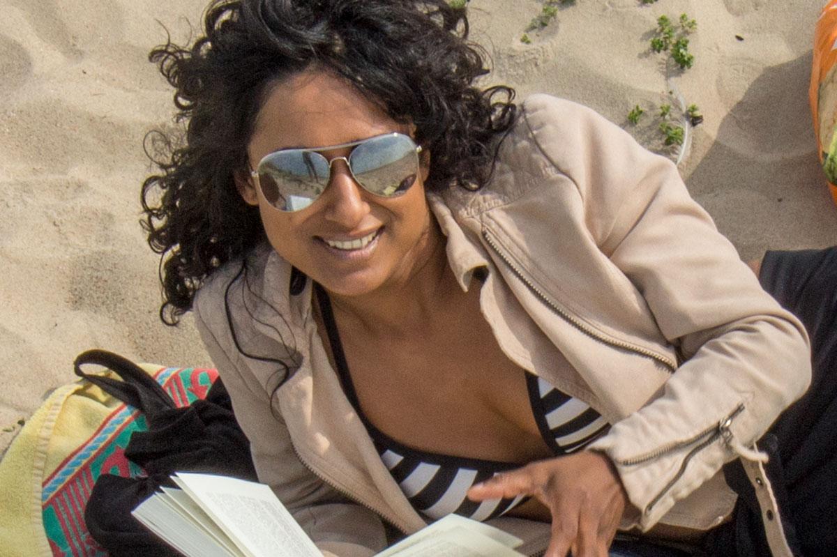 Cultuurverschillen op een strandterras in Cadzand