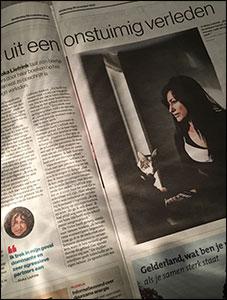 Artikel in de Gelderlander (nov. 2019)
